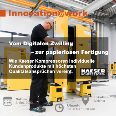 Innovation @ work mit Kaeser