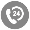 24x7 Support Hotline